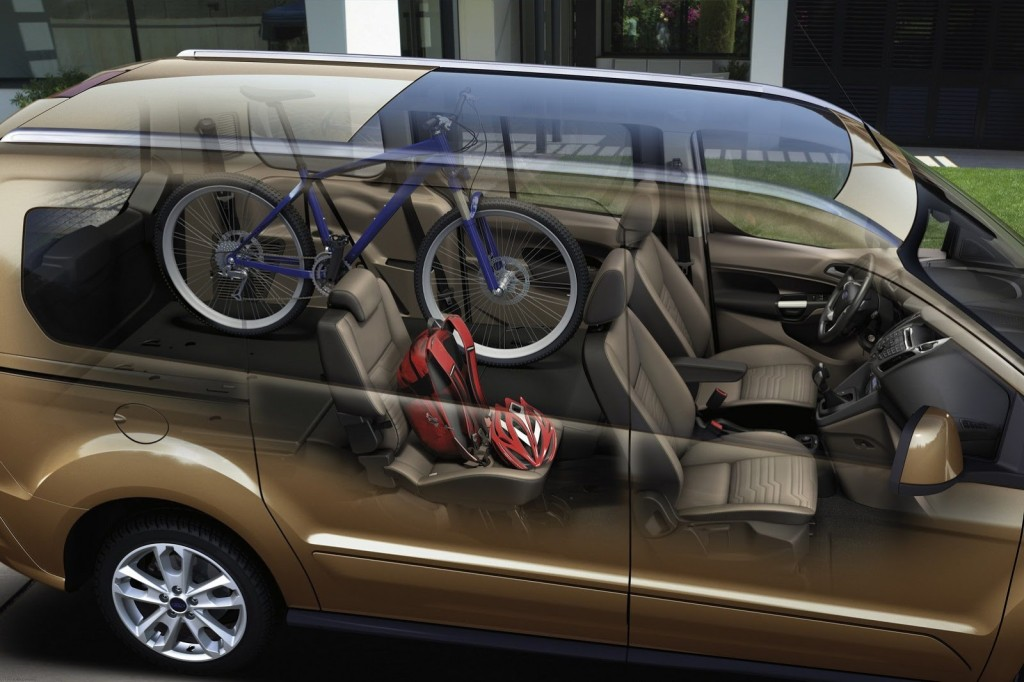 All-New Ford Tourneo Connect Delivers Best-in-Class Flexibility for Families