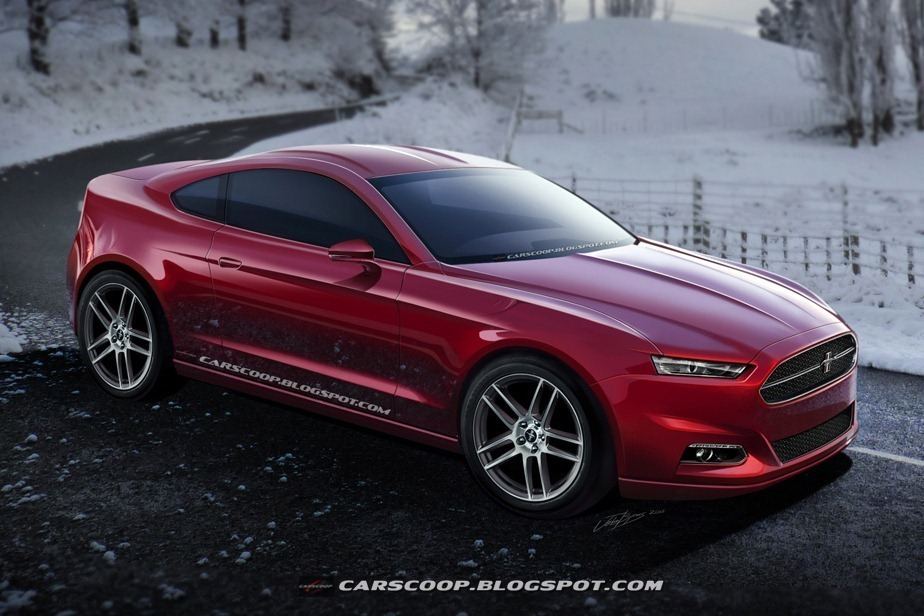 2015 Ford Mustang CarScoop