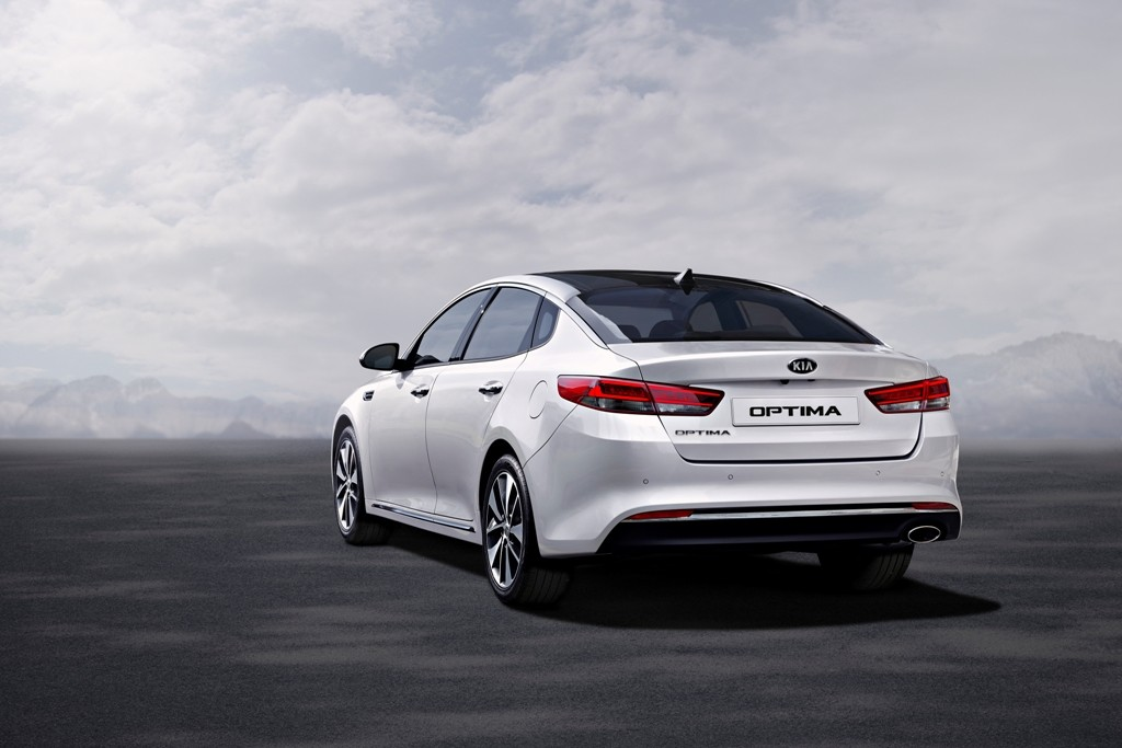 New Kia Optima - exterior