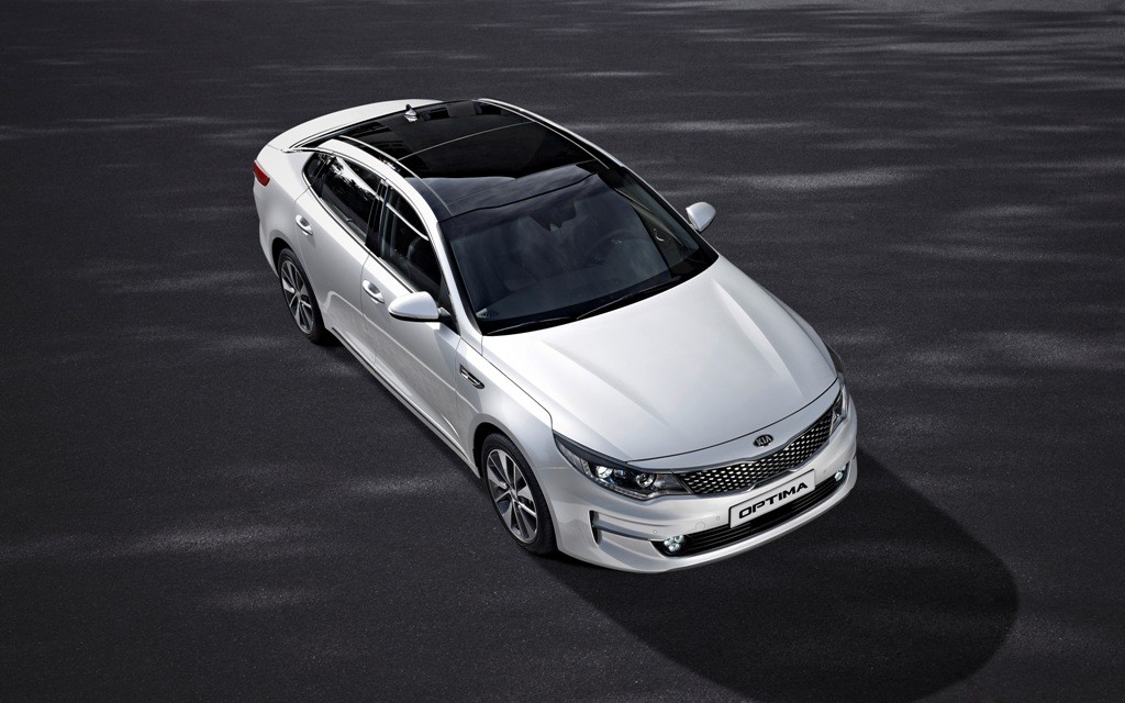 New Kia Optima - exterior_